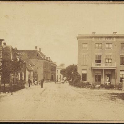 Hotel 'Steuk' in 1870